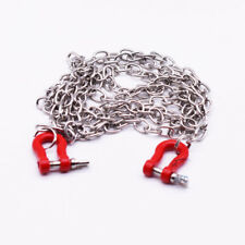 1 / 10 scale rc car metal chain with tie red 100 cm long rc crawler truck access