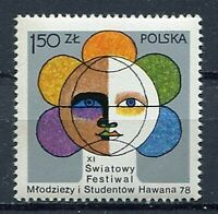 35940) Poland 1978 MNH Havana Youth Games 1v