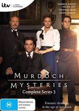 NEW Murdoch Mysteries: Series 3  - DVD Region 4