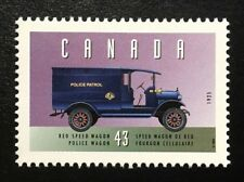 "Canada #1527b MNH, Historic Land Vehicles ""2"" Reo Police Wagon Stamp 1994"