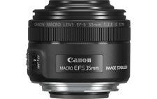 Canon EF-S 35mm f/2.8 macro is STM objetivo