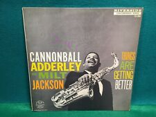 Cannonball Adderley Milt Jackson Things Are Getting Better 1st Press 1958 Mono.