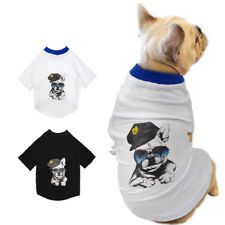 Summer Casual Pet Dog Puppy Cute T-Shirt Cotton Apparel Small Large Dogs Clothes