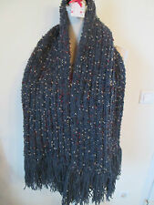 Superbe   Echarpe  100% LAINE TBEG  vintage scarf