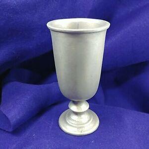 Pewter Goblet Plough Tavern or Vase