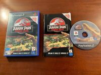 playstation 2 ps2 Jurassic park operation genesis the disc is excellent no marks