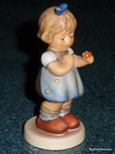 "1st Issue ""Love Pedals"" Goebel Hummel Figurine #804 TMK8 Girl With Spring Flower"