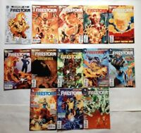 FIRESTORM # 0 1 2 3 4 5 6 7 8 9 10 11 12  DC NEW 52 2011 THE FURY OF NUCLEAR MAN