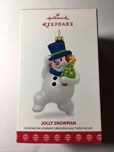 Hallmark Keepsake Jolly Snowman Ornament 2017