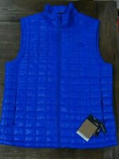 NWT The North Face Mens Thermoball Eco Vest TNF Blue Size Large $149