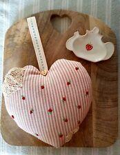 Handmade Susie Watson fabric Lavender Heart Pillows , made to order ,custom made