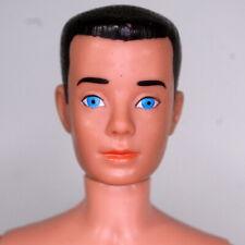 Vintage Painted Hair Ken Dark Brunette Barbie Reproduction Nude Doll In the Swim