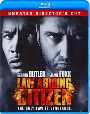 LAW ABIDING CITIZEN - UNRATED DIRECTOR'S CUT *NEW BLU-RAY*