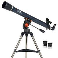 Celestron 21061 AstroMaster 70AZ Refractor Telescope Beginner Star Gazing