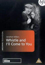 WHISTLE AND I'LL COME TO YOU DVD Michael Hordern Ambrose Coghill New Sealed R2