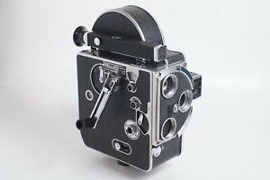 Bolex H16 Deluxe 16mm Cine Film Camera + Winder + Octameter PLEASE READ