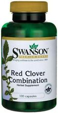Swanson  Red Clover Combination - 100 caps  Free P&P