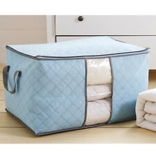 Large Non-woven Space Saver Clothes Quilt Blanket Storage Bag Box Organizer