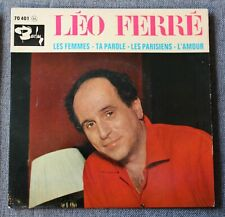 Leo Ferre, les femmes + 3, EP - 45 tours