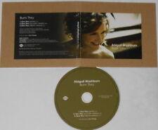Abigail Washburn  Burn Thru ep   U.S. promo cd