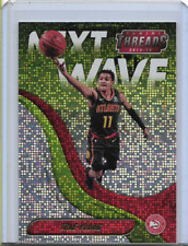 2018-19 Panini Threads Next Wave Dazzle #2 Trae Young Rookie Hawks
