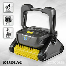 Zodiac Cx35 Robotic Pool Cleaner W/caddy&timer 100 Micron Filter for Fine Dust
