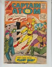 "Captain Atom 78 (#1)VG (4.0) 12/65 ACG! O: Retold! ""They Came From Planet Blue!"""