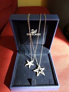 Collana swarovski originale con stelle marine, usata pochissimo