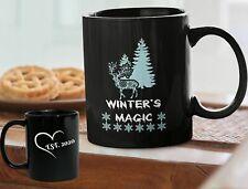 Winter magic mug -  Christmas coffee 11oz mug Xmas Gift 2020