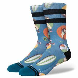 Stance Monkey Chillin Tea Crew Socks