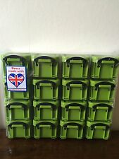 Really Useful Organiser Box 16 x 0.14L boxes Green Arts & Crafts Storage