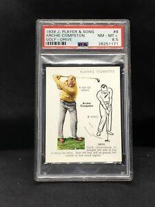 1939 John Player & Sons #8 Archie Compston PSA 8.5