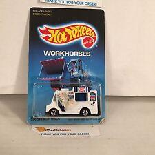 #5 Good Humor Truck 5904 White * Malaysia 1986 * Hot Wheels * J11