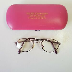 Crayola Kids Classic eyeglasses metal frames HandMade in France 42-20-125 w/lens
