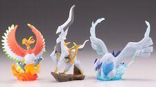 NEW Nintendo POKEMON JAPAN Limited Figure Ho-oh & Lugia & Arceus SET F/S KAIYODO