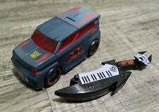 Transformers Animated Electrostatic Soundwave Soundblaster Ratbat Complete