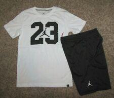 Air Jordan Boys Set Shirt Shorts Medium