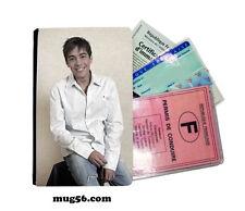 grégory lemarchal 01-002  étui pochette carte grise carte d'identité permis