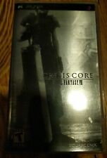 PSP GAME FINAL FANTASY 7 CRISIS CORE CIB RARE METALLIC COVER FREE SHIPPING!!!