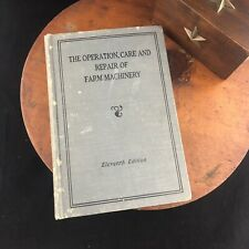 Vtg The Operation Care Repair Farm Machinery 11th Edition John Deere Tractor