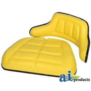 Compatible With John Deere SEAT CUSHION SET WRAP AROUND BACK & ARMS