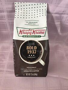 Krispy Kreme Doughnuts Bold 1937 Dark Roast 12 Oz Expired