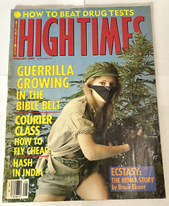 High Times Magazine - August 1988 Issue 156, How To Beat Drug Tests