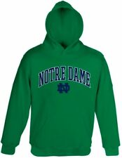 NCAA Notre Dame Fighting Irish Men's Green Embroidered Pullover Hoodie, XX-Large