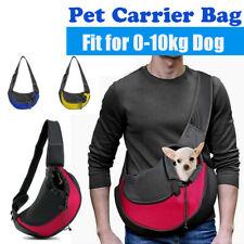 More details for pet carrier dog cat comfort shoulder tote puppy travel bag sling backpack 2020 ♡