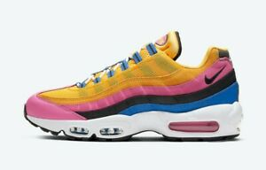 Nike Air Max 95 Blue/Pink/Yellow 2020Size 10.5 CZ9170-700