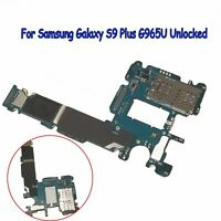 Main Logic Motherboard Replacement for Samsung Galaxy S9 Plus G965U Unlocked BUS