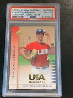 2005 Upper Deck USA Baseball Clayton Kershaw #USA86 PSA 8