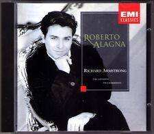 Roberto Alagna 1995 EMI DEBUT Tenor Arias Armstrong CD DONIZETTI MASSENET Rabaud