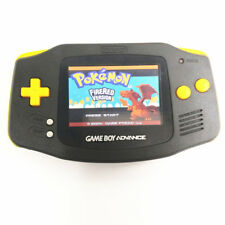 Black Game Boy Advance GBA Console AGS-101 Backlight Screen - Yellow Buttons